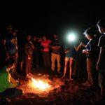 Badami Camping Campfire