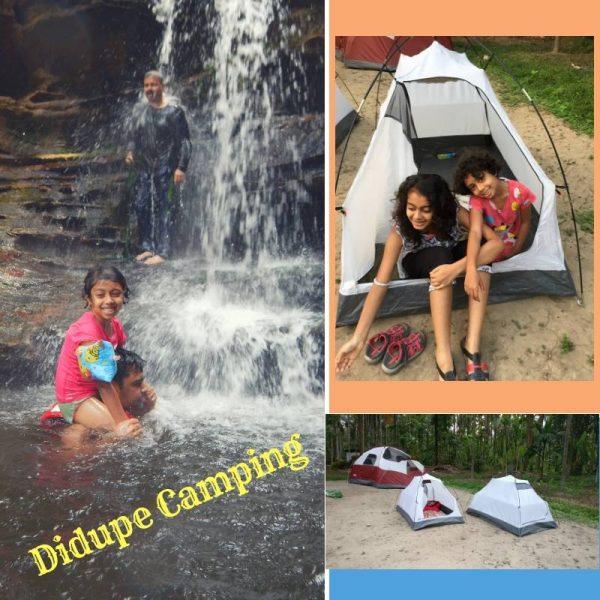 Didupe Camping waterfalls banner