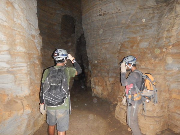 Once you descend to the cave floor, this is how it appears