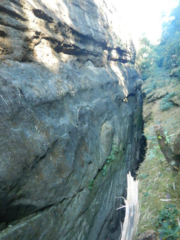 Canyoning Meghalaya Dam area canyon