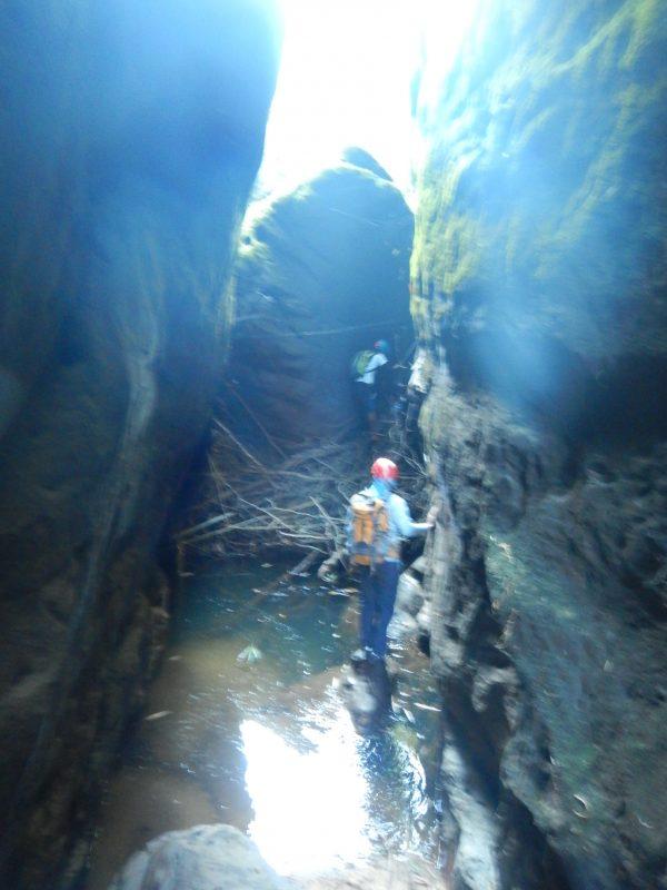 Canyoning Meghalaya Dam area canyon_2