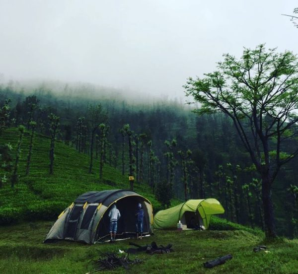 tents at priyadarshini tent camping