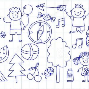 adventure-summer-camp-for-kids-doodle-banner-bottom