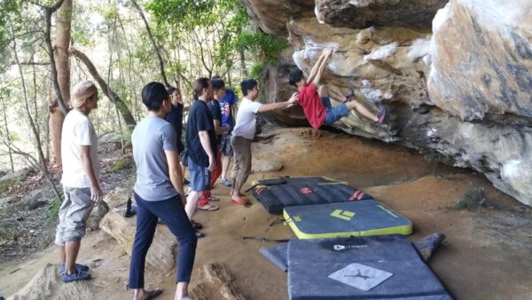 Rock Climbing Training Level 1 Bouldering Workshop