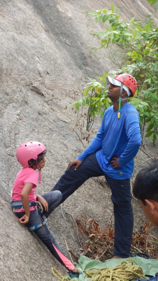 Rock Climbing Training - Top Roping - 4