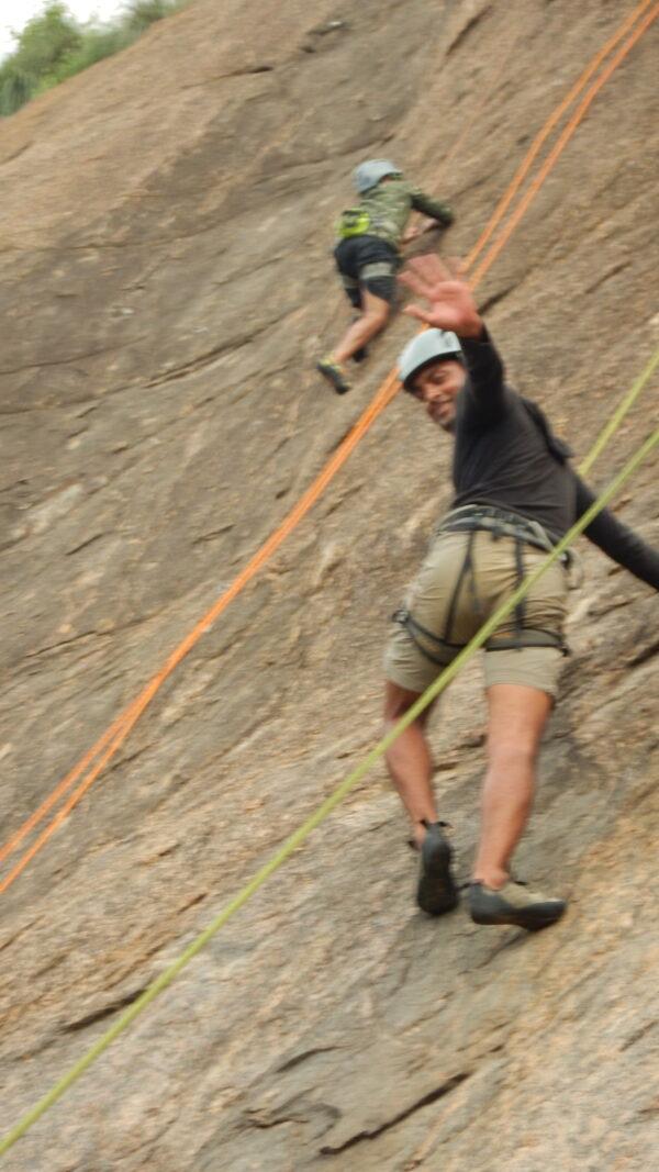 Rock Climbing Training - Top Roping - 6