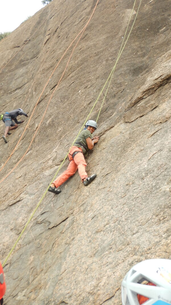 Rock Climbing Training - Top Roping - 7