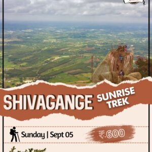 Sunrise trek to shivagange hills